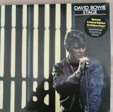 David Bowie Stage 2017 Reissue 2 Vinyl Lp's Yellow   In New Condition.