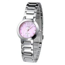 Casio LTP1191A-4A1 Ladies Stainless Steel Casual Dress Watch Round Quartz PINK