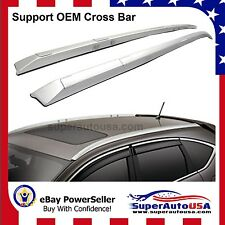 Fit 2012-2016 Honda CRV Roof Rack Side Rails OE Style Bars Silver Mount Bolt
