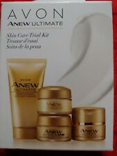 Avon 4 pc Anew Ultimate Skin Care Trial Kit Age 50+ Day, Night, & Eye Cream