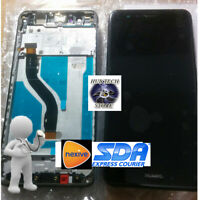 SCHERMO VETRO DISPLAY LCD TOUCH SCREEN  FRAME PER HUAWEI P10 LITE NERO  WAS-LX1A