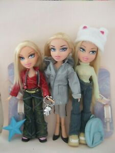 HTF Vintage Bratz dolls clothes shoes Barbie doll interest
