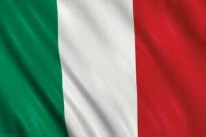 BANDIERA ITALIA ITALIANA 150X90 CM CON ASOLA PER ASTA TRICOLORE GRANDE ITALY