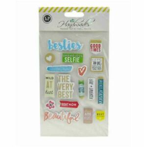 Sticker Embellishment with Double Sided Tape (BESTIES)