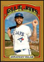 Jonathan Villar 2021 Topps Heritage 5x7 Gold #434 SP /10 Blue Jays
