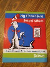 New (other) Dr. Seuss Elementary School Album Keepsake Binder w folder pockets