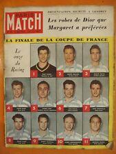 Paris Match N° 60 du 13/05/1950-Finale de la Coupe de France-Les robes de Dior