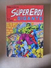 Raccolta SUPEREROI GIGANTE n°8 1984 Edizioni Corno [G487]
