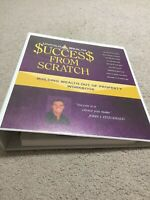 Untold Wealth Success From Scratch DVD Workbook Property Rich John L Fitzgerald