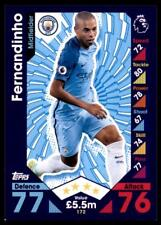 Match Attax 2016-2017 Fernandinho Manchester City Base card No. 172