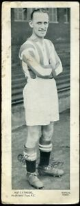 Trade Card, Topical Times, FOOTBALLERS, 1934, 250 x 95, Alf Lythgoe,Huddersfield