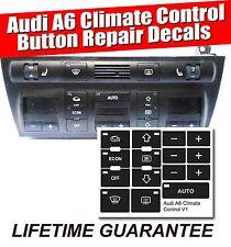99-03 AUDI A6 S6 ALLROAD HEATER AC CLIMATE CONTROL DECALS 4B0 820 043 AH