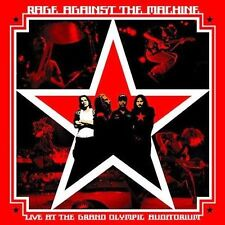 RAGE AGAINST THE MACHINE--Live At The Grand Olympic Auditorium--CD--New, Sealed