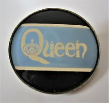 QUEEN : Vintage 1970s Promotional Button Pin Badge