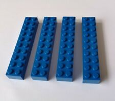Lego Brick 2x10 Part 3006 Blue Pack of 4 New Ref:127