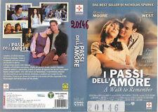 I PASSI DELL'AMORE - A WALK TO REMEMBER (2002) vhs ex noleggio