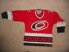 Carolina Hurricanes NHL CCM Hockey Jersey Air-Knit Youth L XL Classic Red  Sewn b5d0154a9