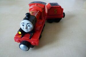 JAMES & TENDER with Light/Sounds - Round Magnets Take n'Play Thomas.