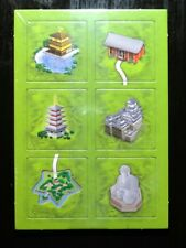 Carcassonne Mini-Erweiterung Japanese Buildings (Tempel/Klöster) neue Edition