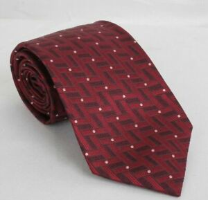 NWT! TOM FORD Neck Tie 100% SILK Purple with White Dots TFN155