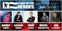 2 Tickets Springsteen Stand Up For Heroes at the Hulu Theater in NY Aisle seat
