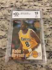 1996-97 hoops #281 KOBE BRYANT rc rookie card BCCG 10 Mint