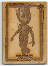 2017 Upper Deck Marvel Guardians of the Galaxy Volume 2 Groot's Roots Wood GR5