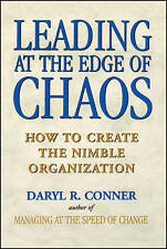 """VERY GOOD"" Leading at the Edge of Chaos: How to Create the Nimble Organization:"