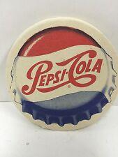 "Vintage 1960s-70s Pepsi Cola 4"" Coaster"