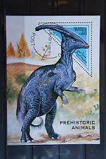 Dinosaurier 15 prehistoric animals Urzeittiere 1997 Block KB sheets gestempelt