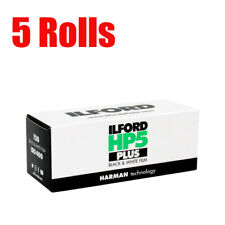 5 Rolls Ilford HP5 Plus 400 120 Black&White Print Film Fresh 2023