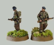 TQD PP6A 20mm Diecast WWII Marching Polish Paras I- Berets 4 Identical Figures