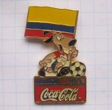 Coca-cola/world cup usa 94 Mascot Striker arabia colombia... pin (127g)