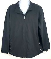 Callaway Golf Weather Series Full Zip Wind Breaker Jacket Coat Mens Size Large
