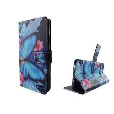 Case Mobile Phone Huawei P9 Lite Blue Butterfly Case Armor Protection Glass