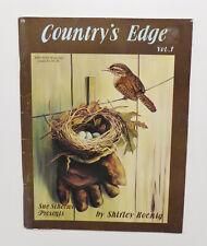 Country's Edge Vol. 1 Sue Scheewe Decorative Tole Painting Folk Art Animals