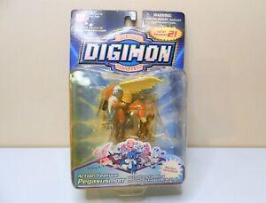 Vintage 2000 Digimon Digital Monsters Action Figure NIP Pegasusmon S 2 Bandai