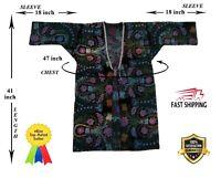 Velvet Embroidery Uzbek Beautiful Vintage Suzani Robe Dress SALE WAS $160.00