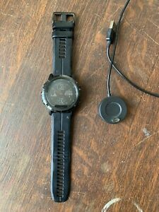 Garmin Fenix 5X Plus 51mm Sapphire Black Case with Black Strap GPS Watch