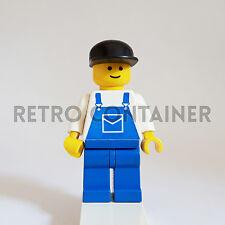 LEGO Minifiguras 1x ovr022 Mecánico Classic Hombrecito Minifigs Set 6426 9247