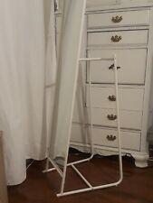 "Full Length Mirror Floor Free Standing Full Body Wall Mirror ,white, 65"" tall"