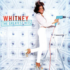 The Greatest Hits - Whitney Houston (CD,2000,2-Discs,Arista) Bonus Tracks Mixes