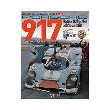 SPORTSCAR SPECTACLES BY HIRO N° 04: PORSCHE 917, DAYTONA, WATKINS - LIVRE NEUF