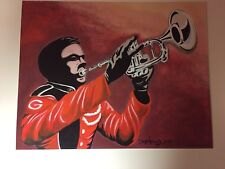 "Georgia Bulldogs Football Dave Helwig ""Glory To Ole Georgia"" artwork print  UGA"