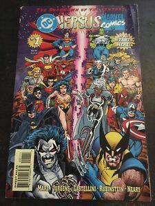 DC Versus Marvel/Marvel Versus DC#1 Excellent Condition 4.0(1996)