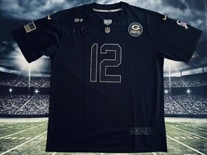 Aaron Rodgers Green Bay Packers Salute To Service Jersey L
