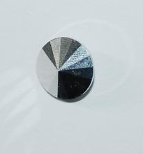 Rivoli Stein crystal labrador silver foiled (silber) von Preciosa  14mm 1x