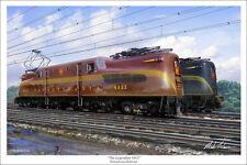 "Pennsylvania Railroad GG1 Railroad Art Print 16"" x 24"""