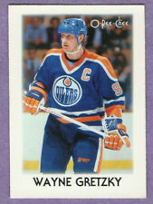 1987-88 OPC O-PEE-CHEE Single Mini Wayne Gretzky Edmonton Oilers #13