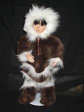 Georgetown Collection TULU; Vintage Porcelain Alaska Eskimo Doll ~ 1993 ~ NIB